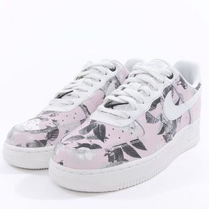 Nike Air Force 1 LXX Summit Pink White Flowers